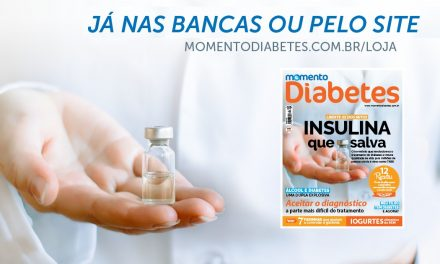 A revista Momento Diabetes nº 02 chegou