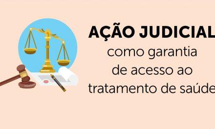Ação judicial como garantia de acesso ao tratamento de saúde