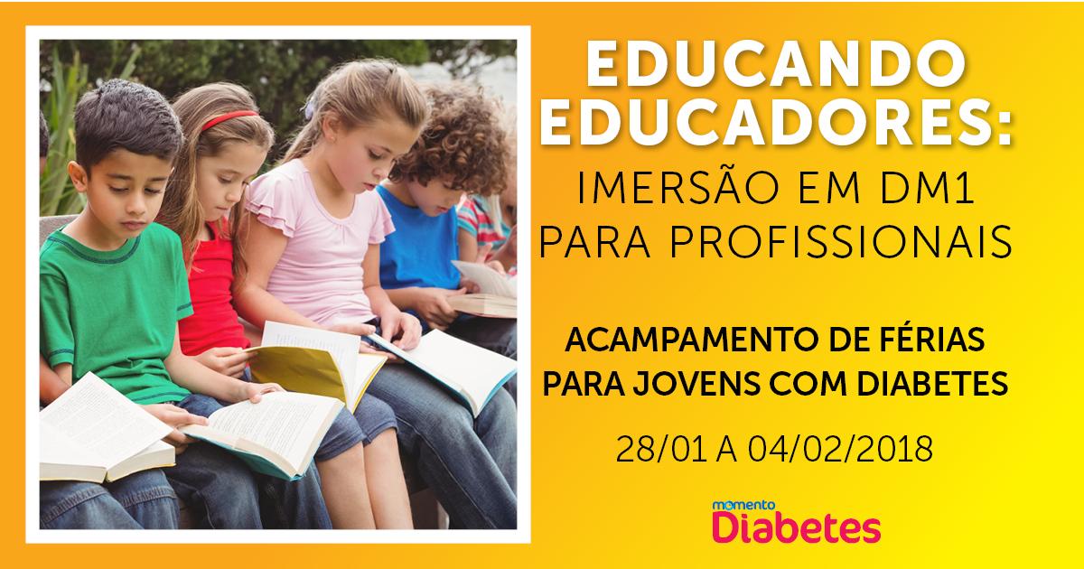 Inscrições abertas para o curso Educando Educadores em Diabetes