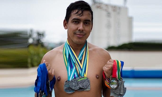 """""""A natação mudou minha vida"""""""
