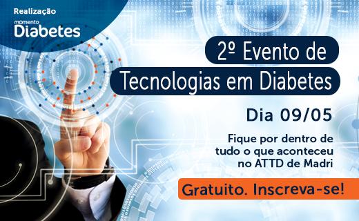 Comunicado: nova data do 2º Evento de Tecnologias em Diabetes – 09 de maio